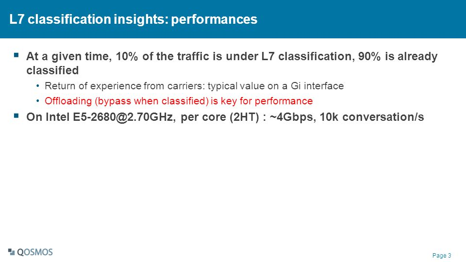 L7 classification insights: performances