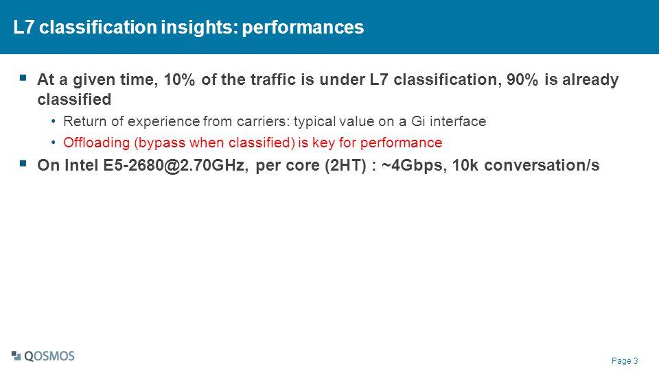 L7 classification insights: performances