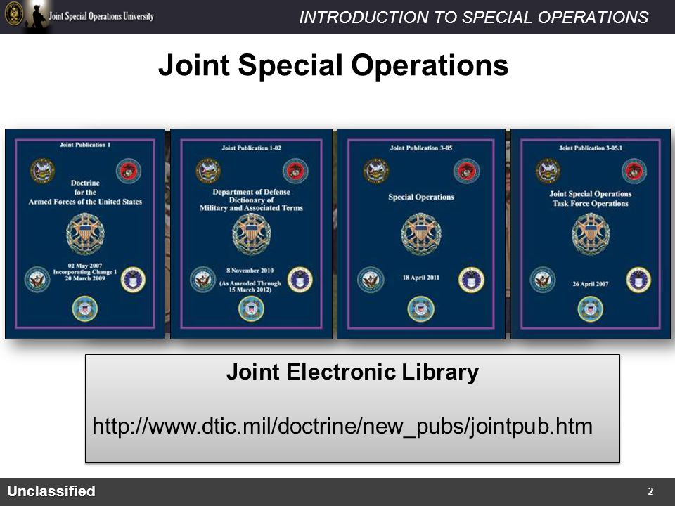 Joint Special Operations