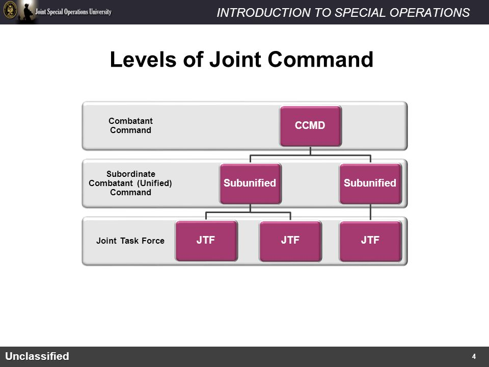 Levels of Joint Command