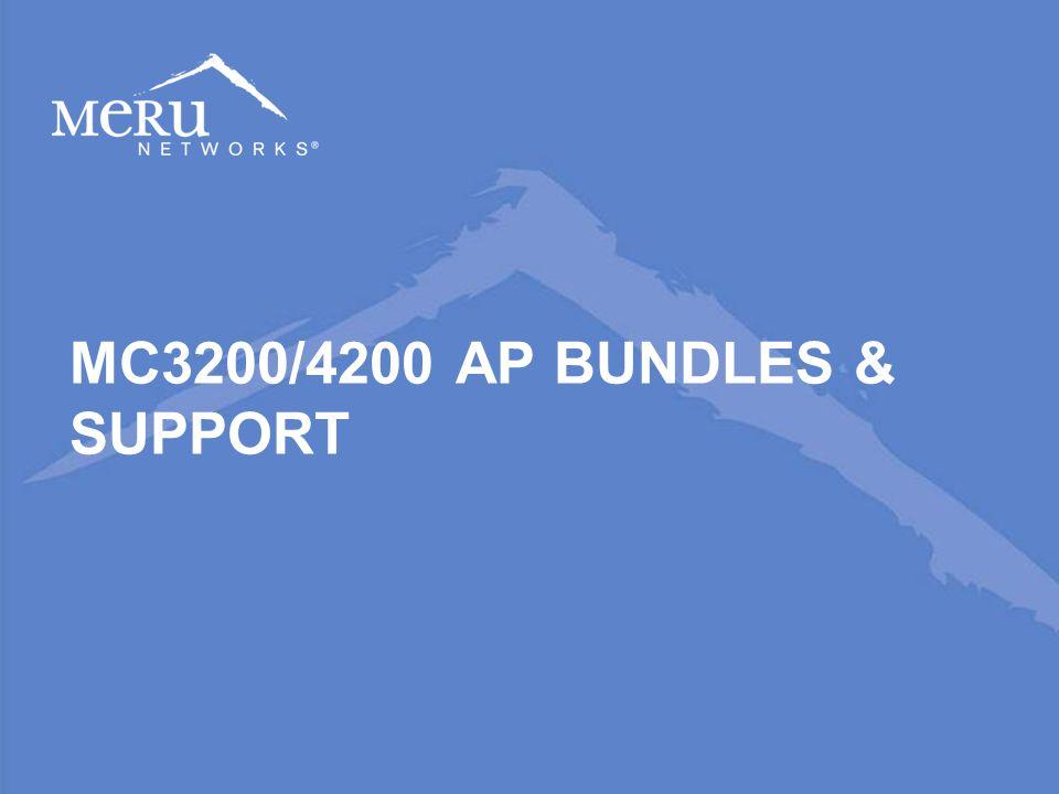 MC3200/4200 AP BUNDLES & SUPPORT