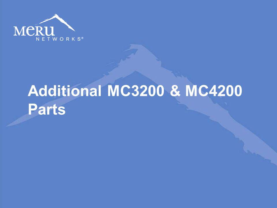 Additional MC3200 & MC4200 Parts