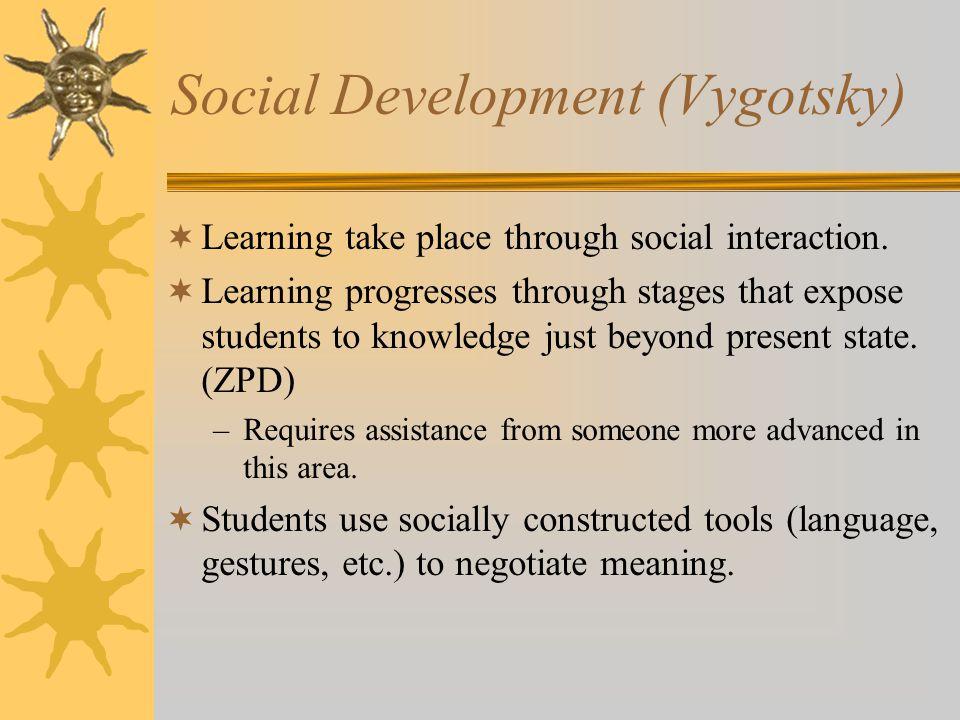 Social Development (Vygotsky)
