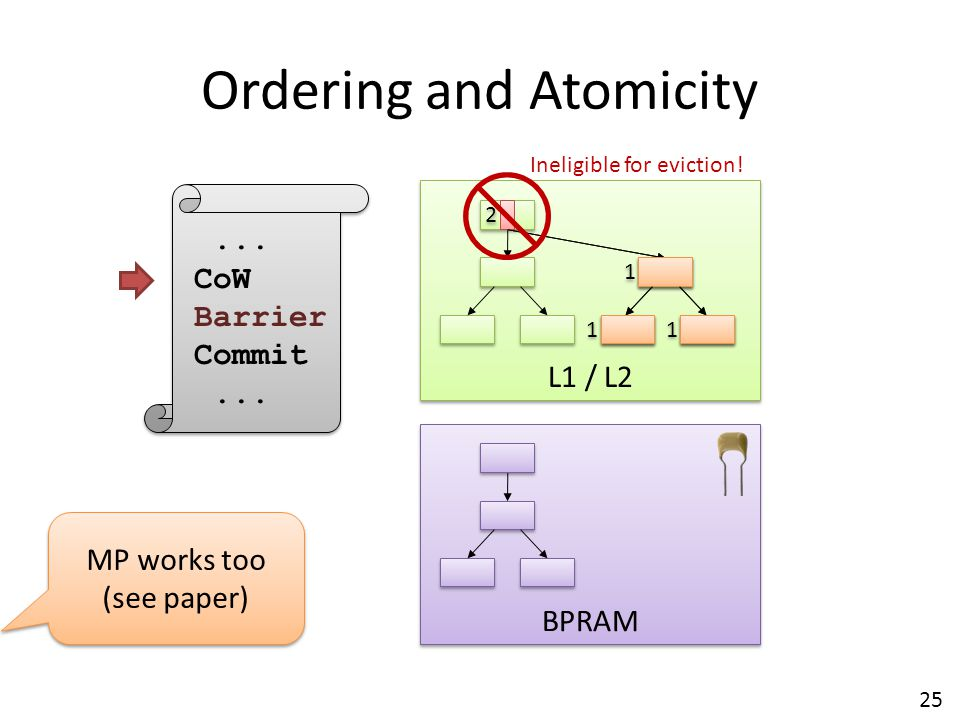 Ordering and Atomicity