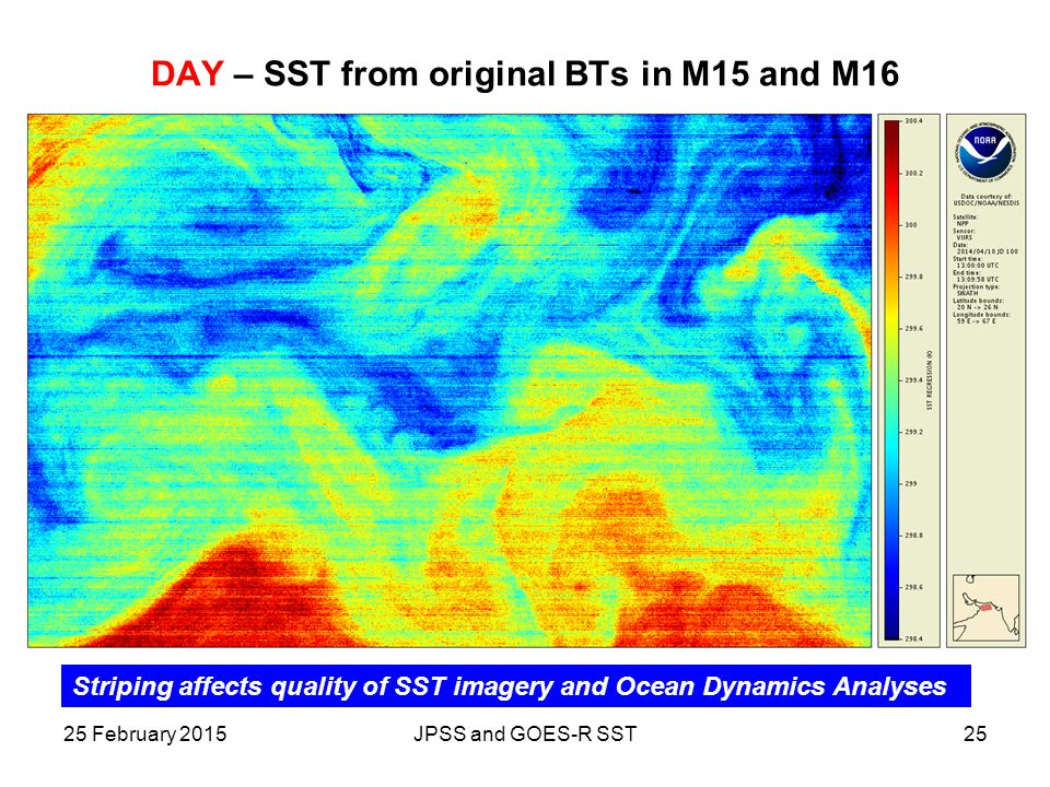 DAY – SST from original BTs in M15 and M16