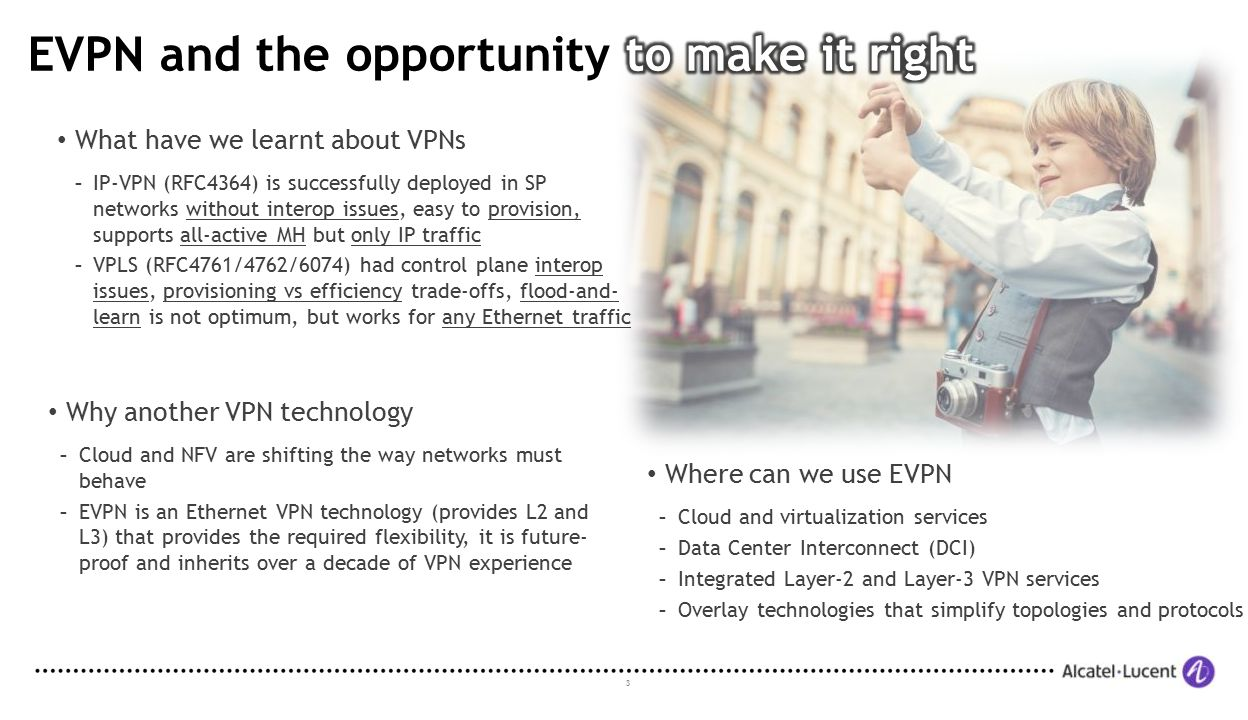 EVPN and the opportunity to make it right