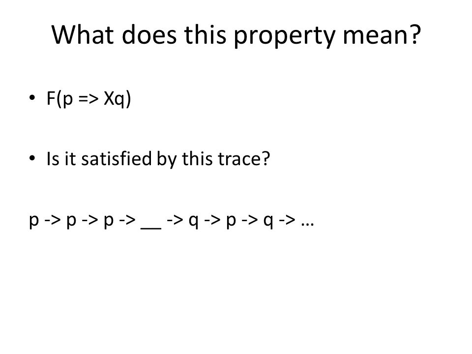 What does this property mean