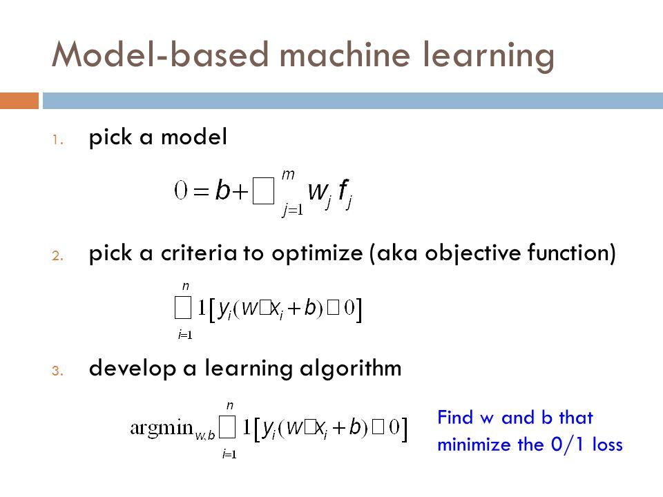 Model-based machine learning