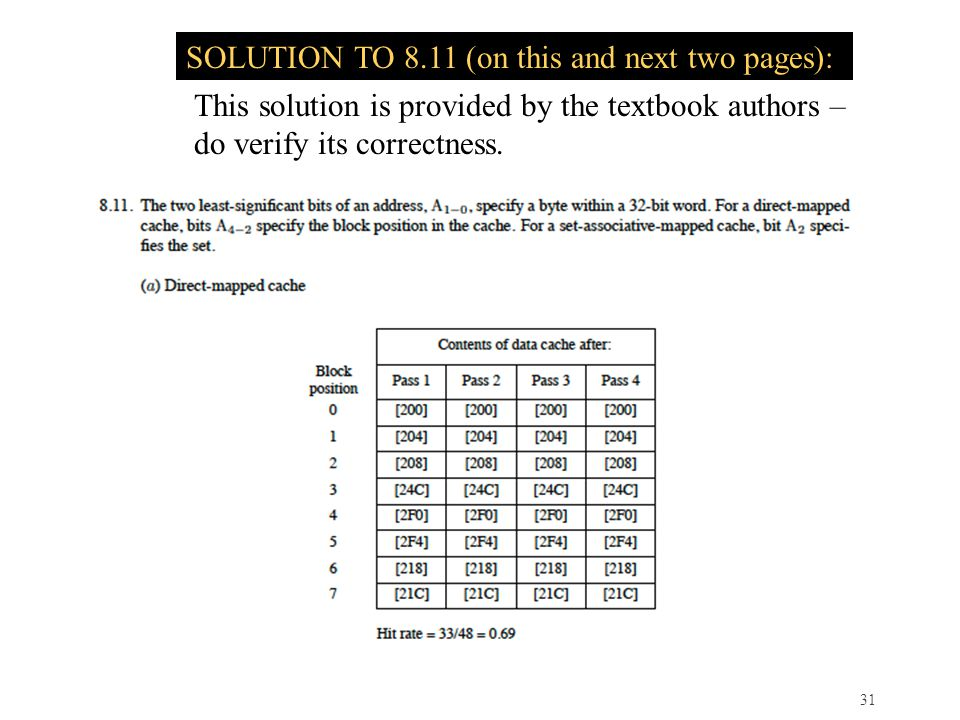 SOLUTION TO 8.11 (on this and next two pages):