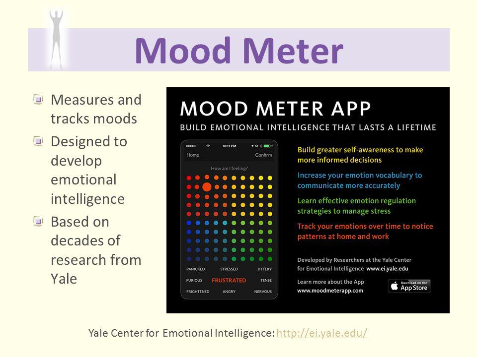 Mood Meter Measures and tracks moods
