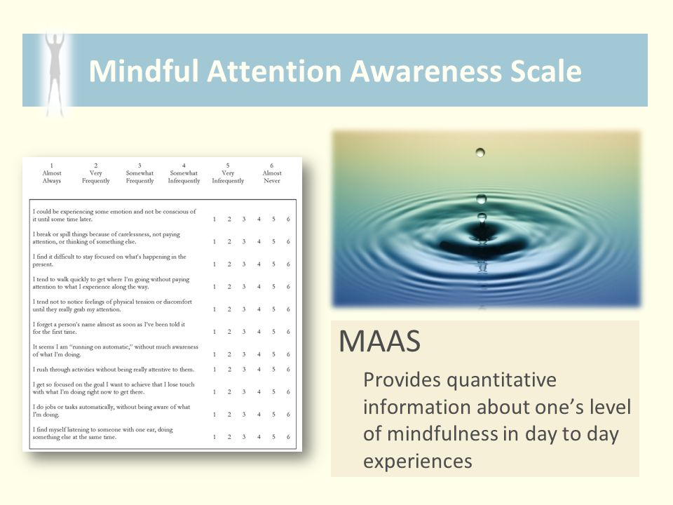 Mindful Attention Awareness Scale