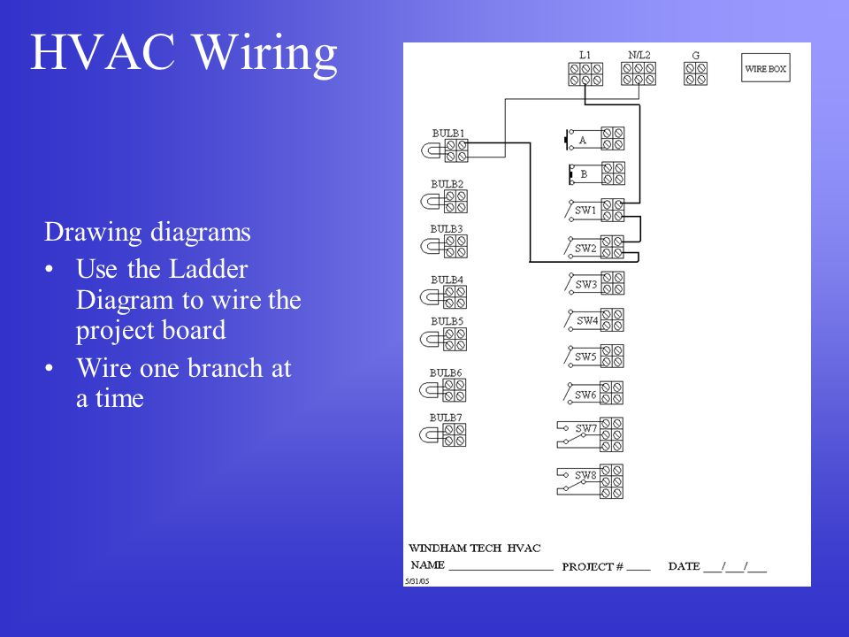 hvac wiring diagram for cap hvac wiring understanding wiring. - ppt download #7