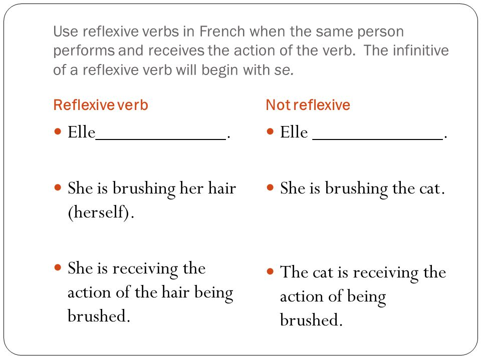 how to find the stem of a french verb