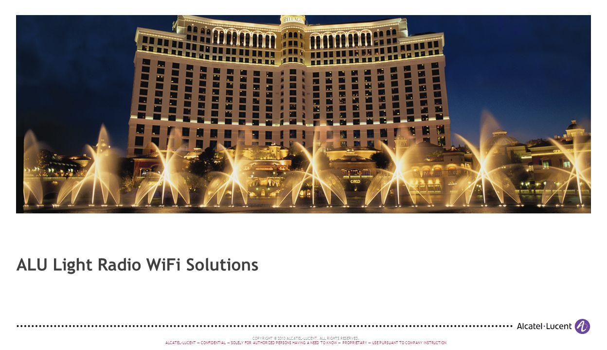 ALU Light Radio WiFi Solutions