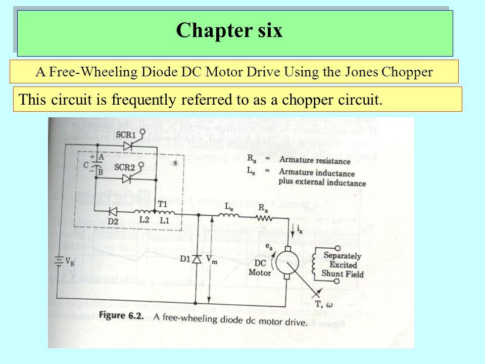 A Free-Wheeling Diode DC Motor Drive Using the Jones Chopper