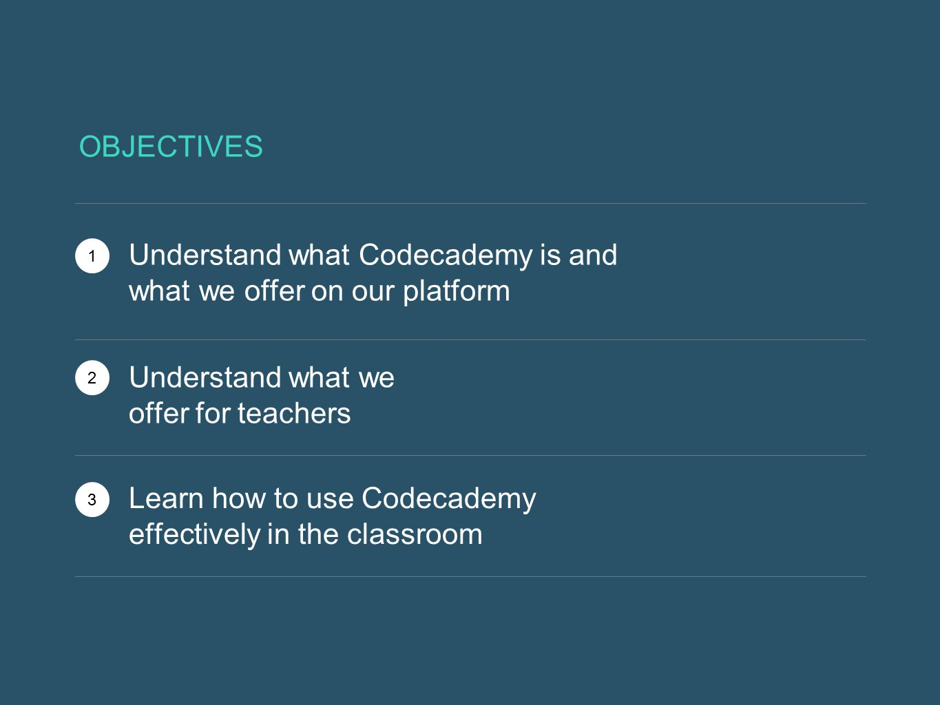 Understand what Codecademy is and what we offer on our platform