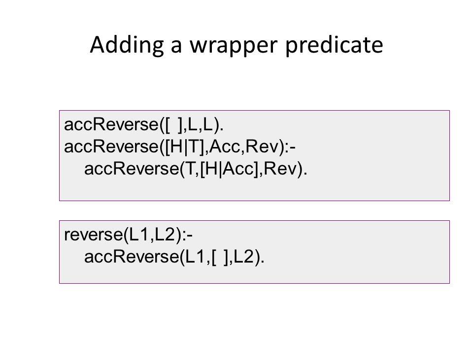 Adding a wrapper predicate