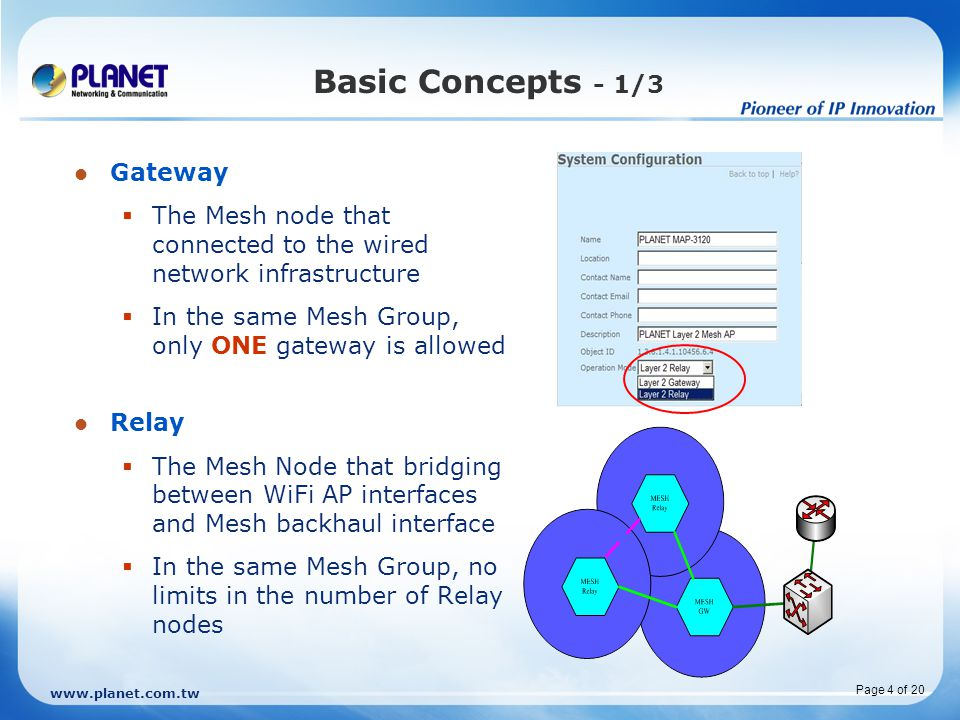 Basic Concepts - 1/3 Gateway