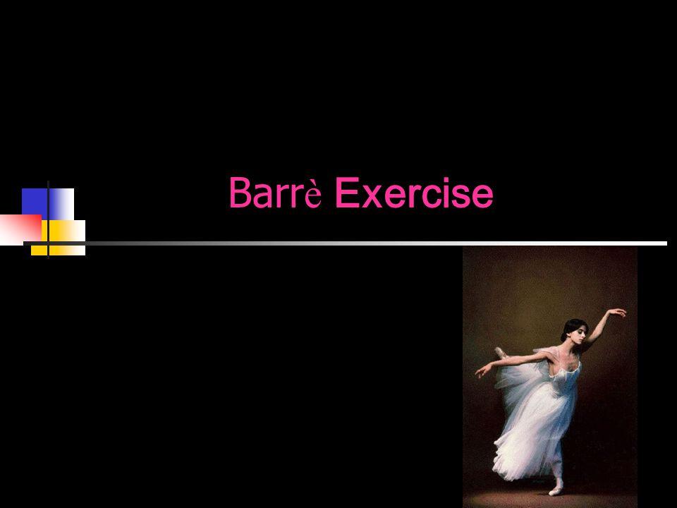 Barrè Exercise