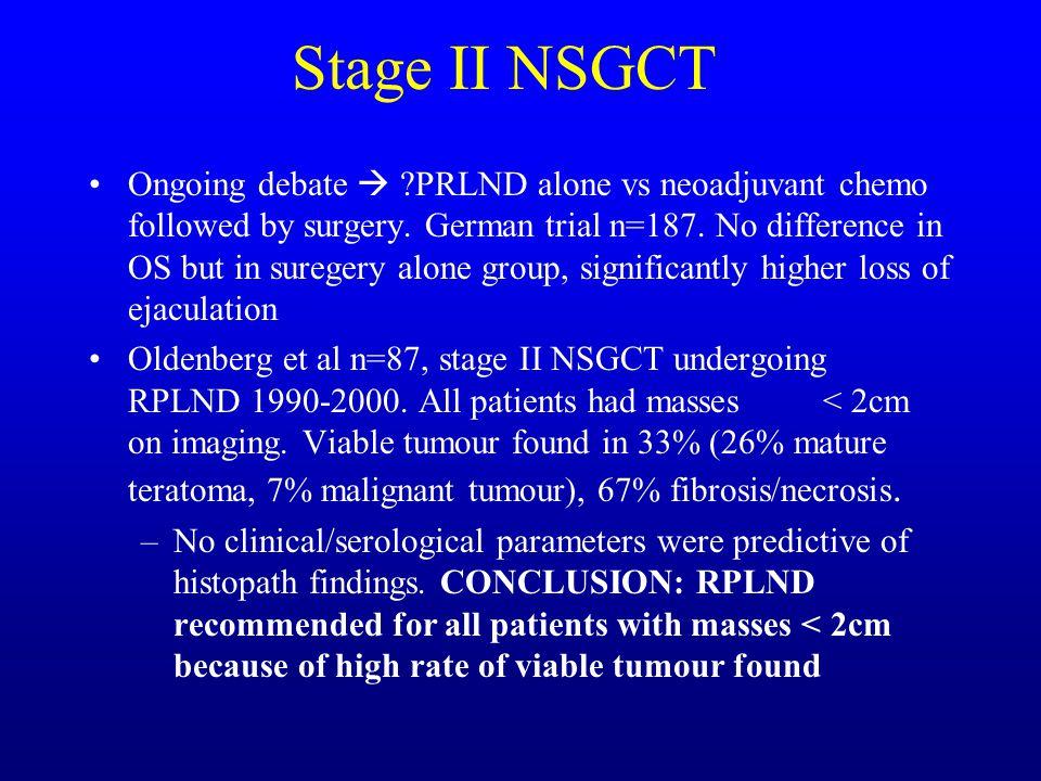 Stage II NSGCT
