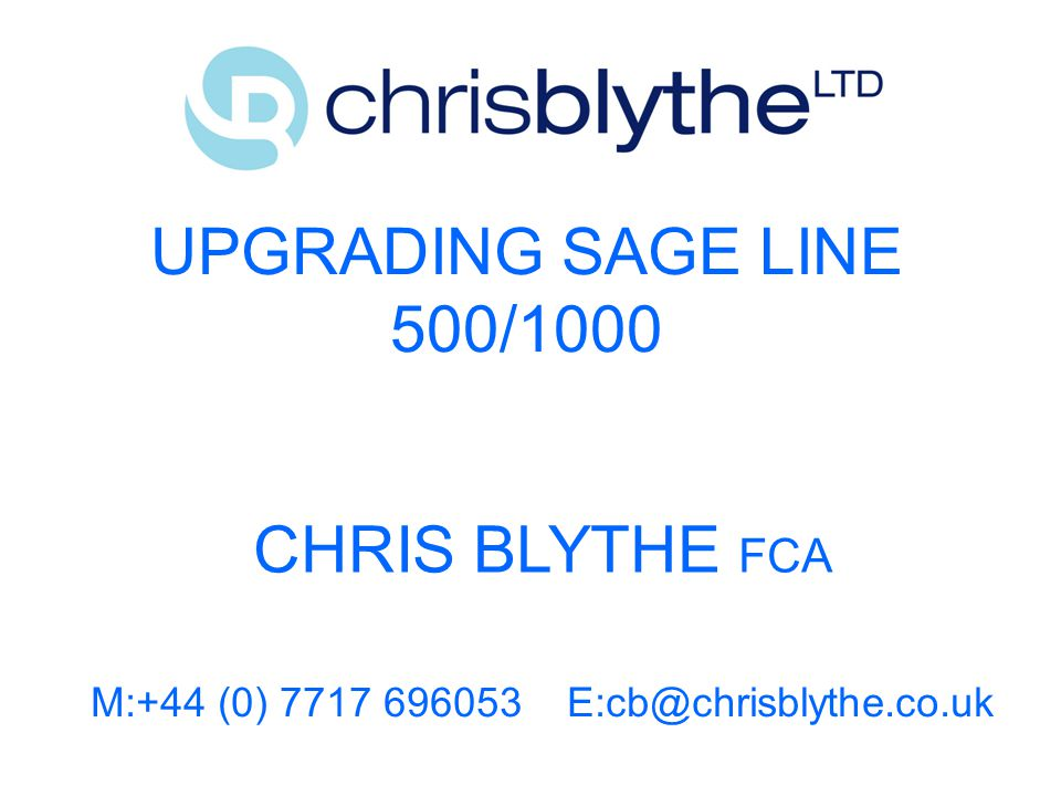 M:+44 (0) 7717 696053 E:cb@chrisblythe.co.uk