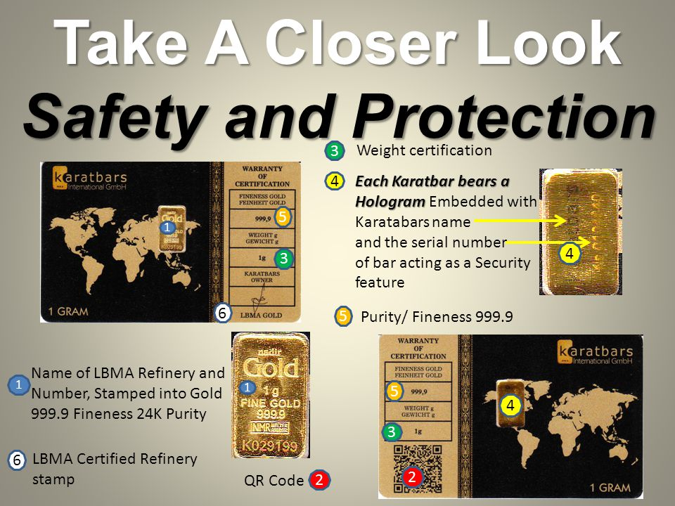 Take A Closer Look Safety and Protection