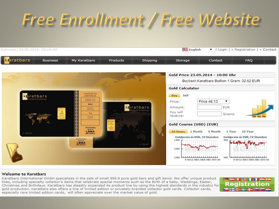 Free Enrollment / Free Website