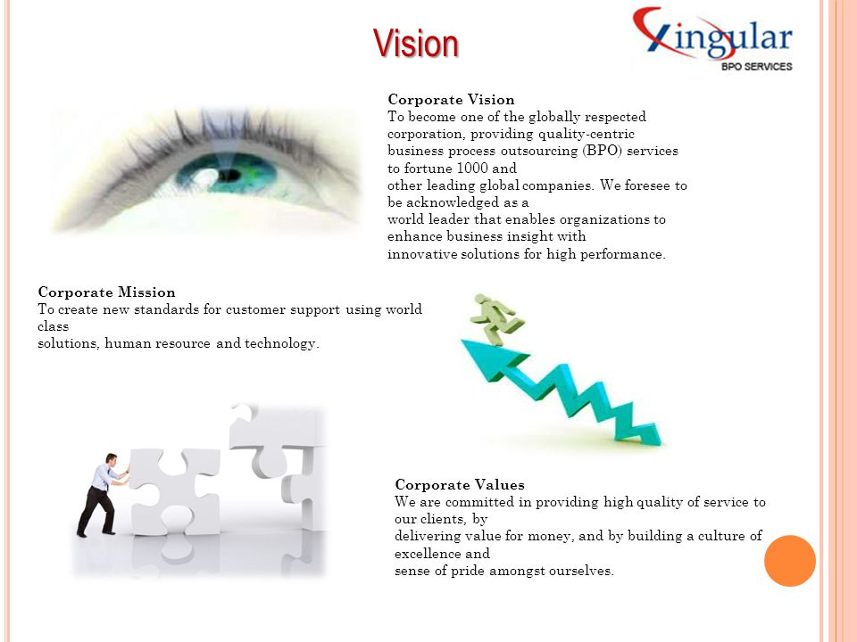 Vision Corporate Vision