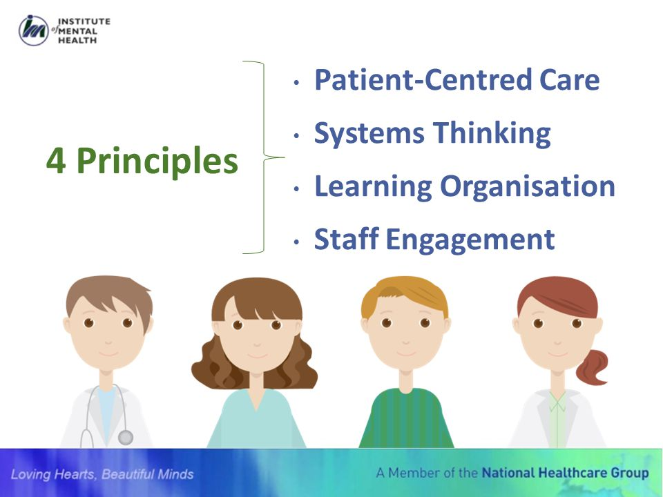 4 Principles Patient-Centred Care Systems Thinking