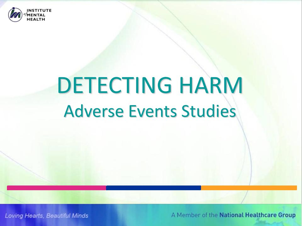 Adverse Events Studies