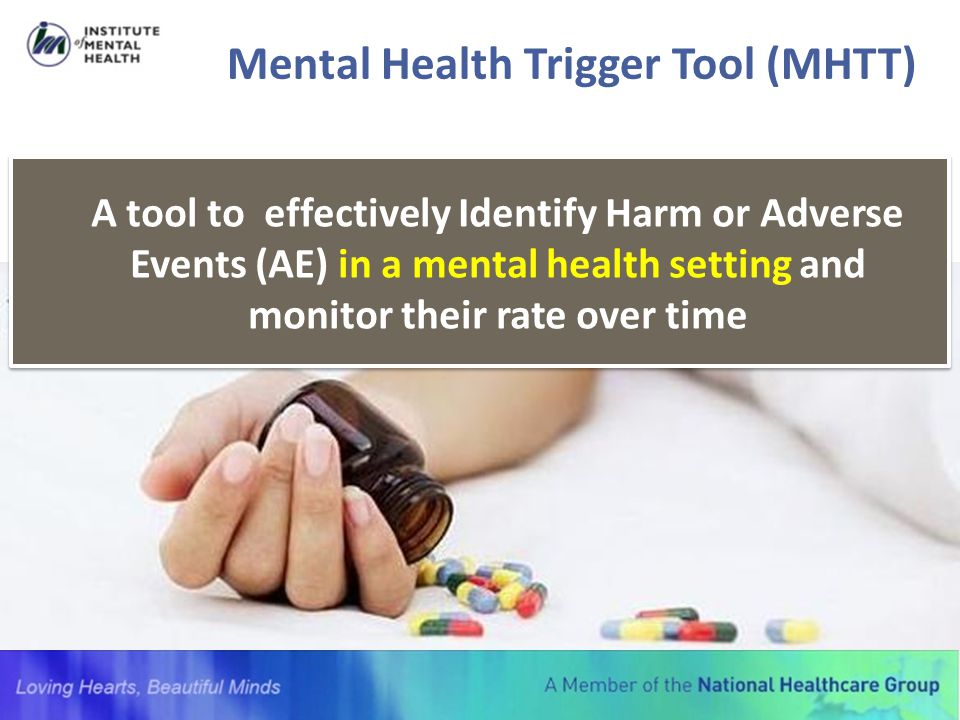 Mental Health Trigger Tool (MHTT)