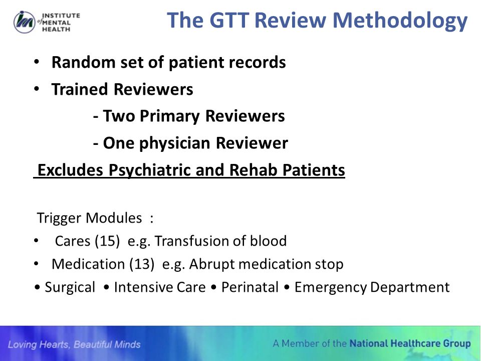 The GTT Review Methodology