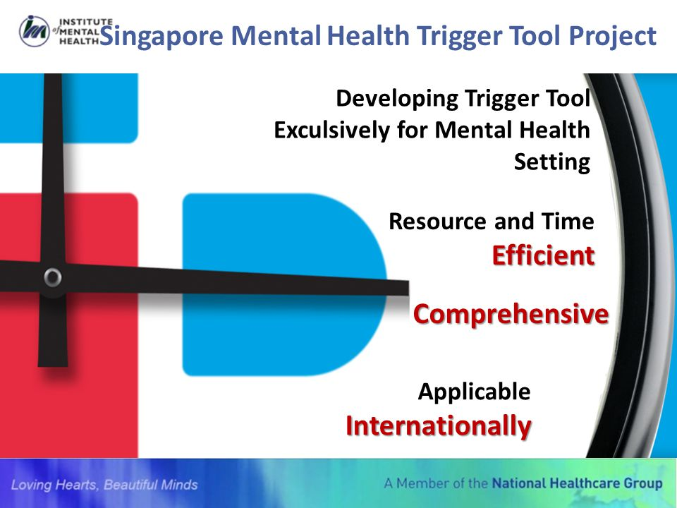 Singapore Mental Health Trigger Tool Project