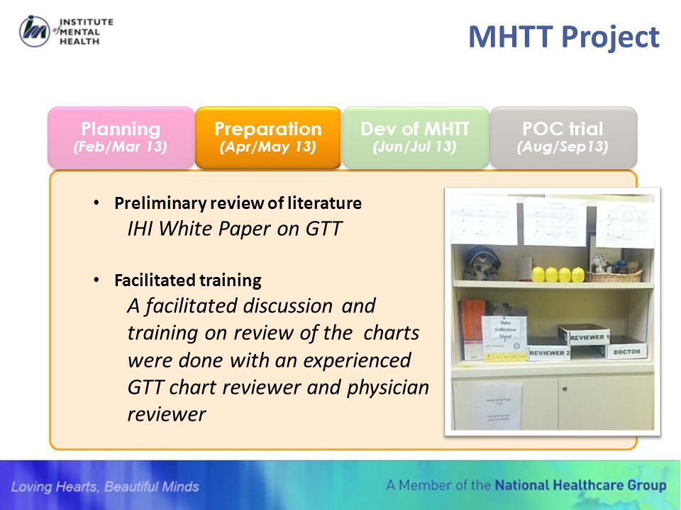MHTT Project IHI White Paper on GTT A facilitated discussion and
