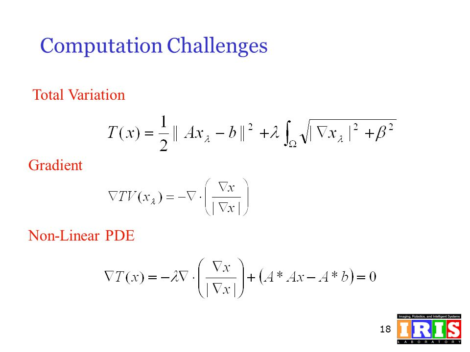 Computation Challenges