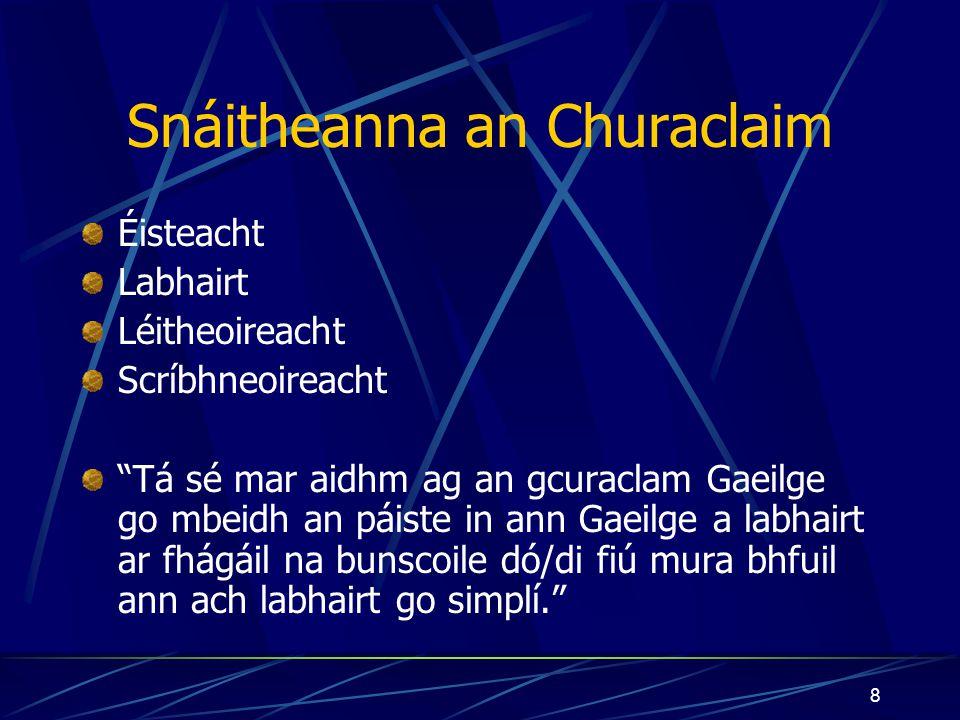 Snáitheanna an Churaclaim