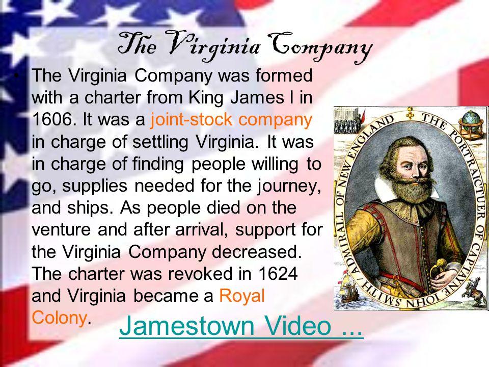 The Virginia Company Jamestown Video ...
