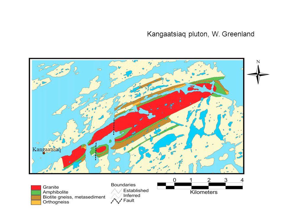 Kangaatsiaq pluton, W. Greenland