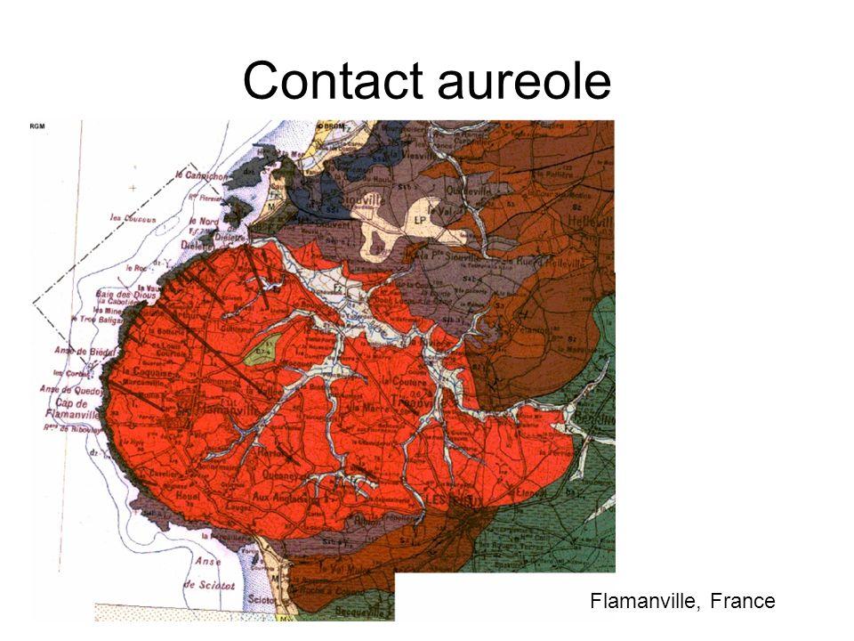 Contact aureole Flamanville, France