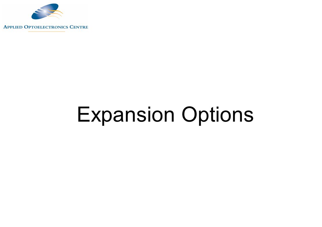 Expansion Options
