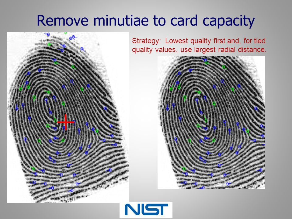 Remove minutiae to card capacity
