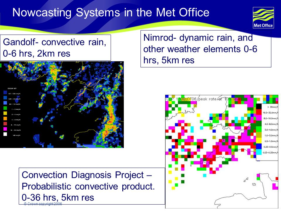 Nowcasting Systems in the Met Office