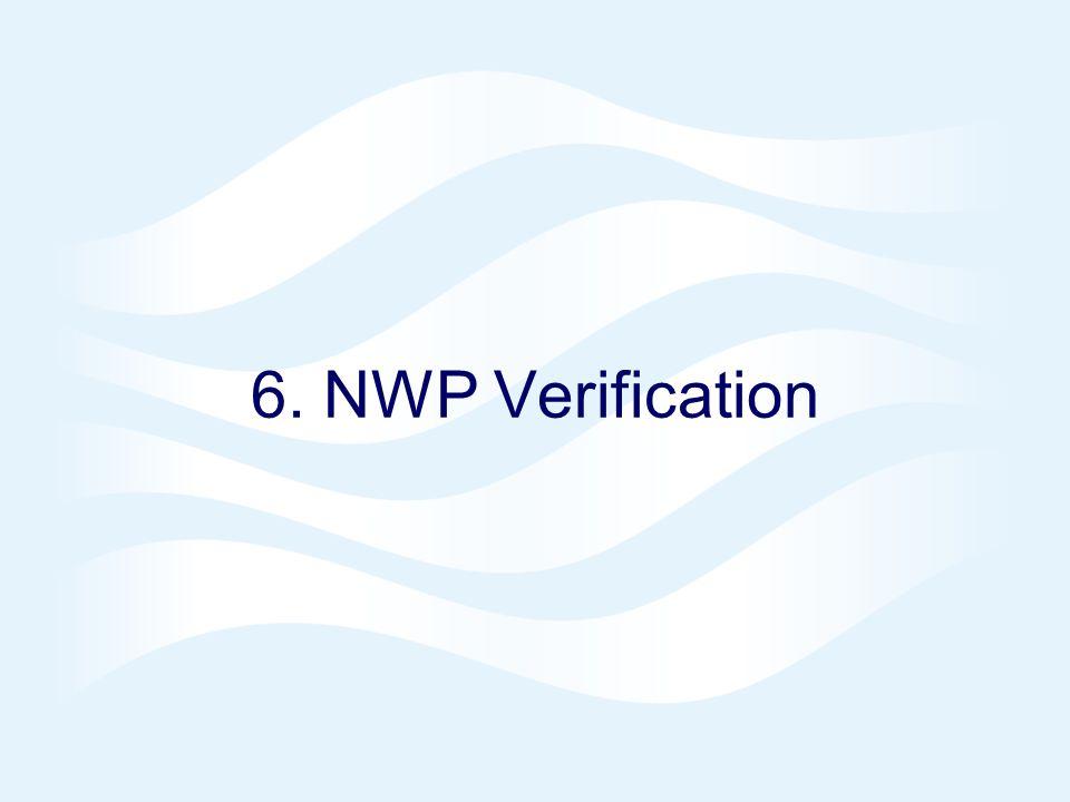 6. NWP Verification