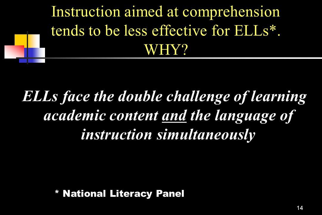 * National Literacy Panel