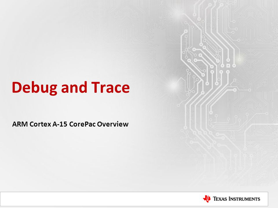 ARM Cortex A-15 CorePac Overview