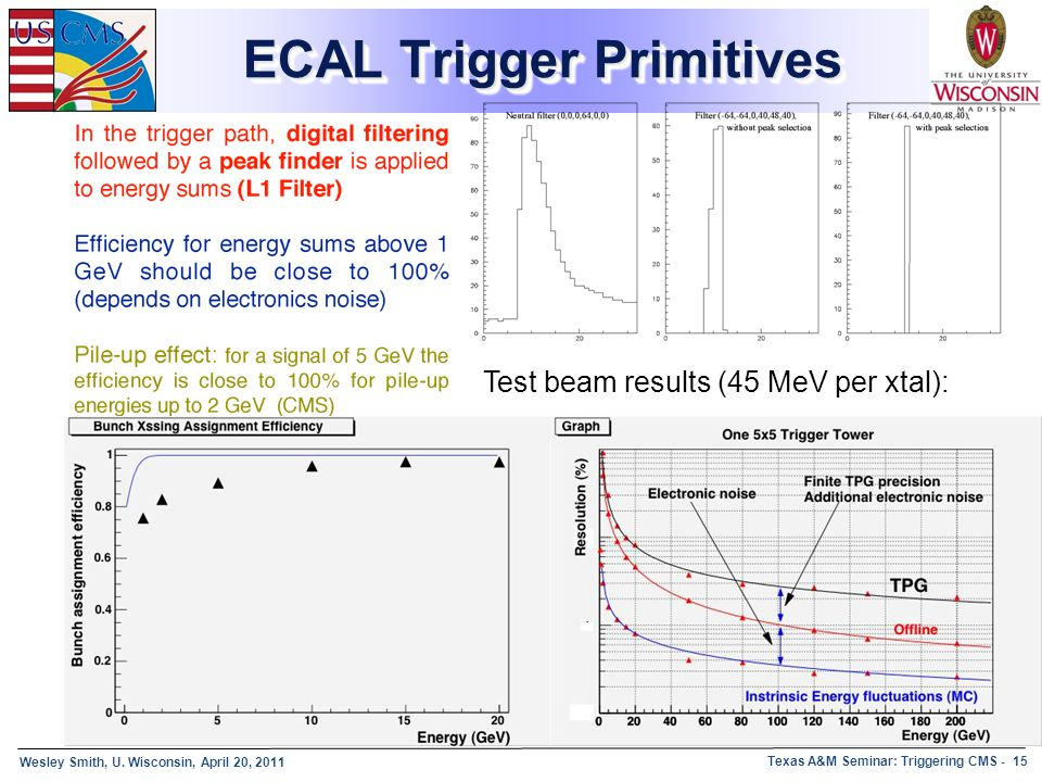 ECAL Trigger Primitives