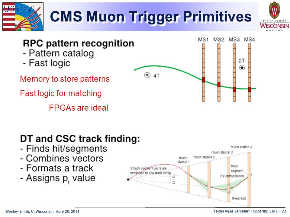 CMS Muon Trigger Primitives