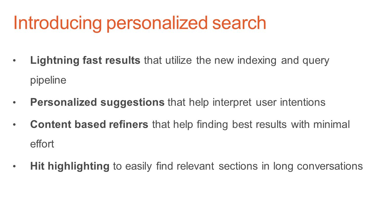 Introducing personalized search