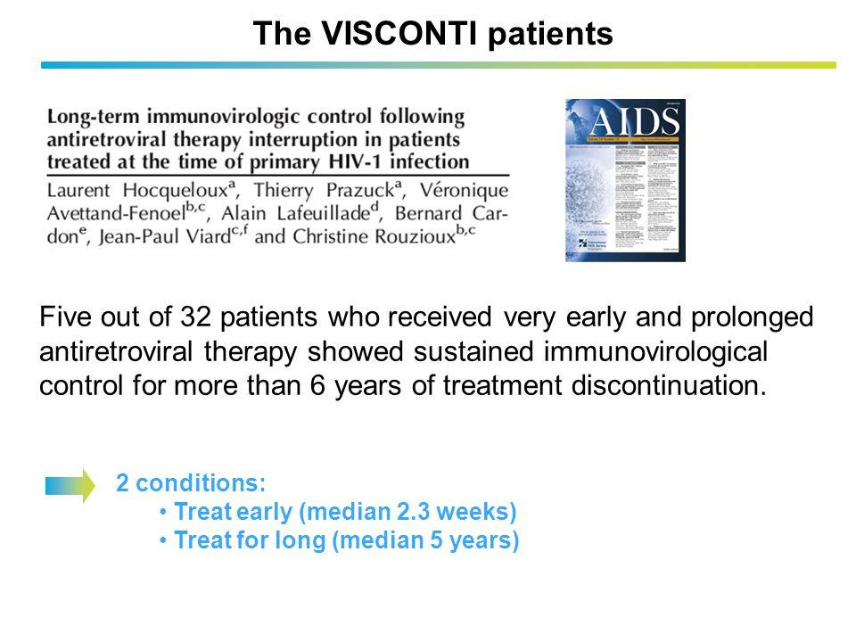 The VISCONTI patients