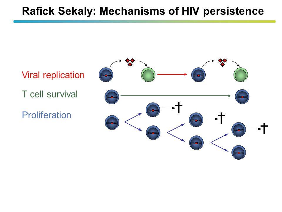 Rafick Sekaly: Mechanisms of HIV persistence